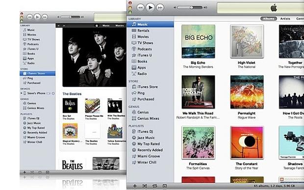 iTunes. (Foto: Reprodução)