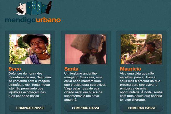 Mendigo Urbano  (Foto: Reprodução)