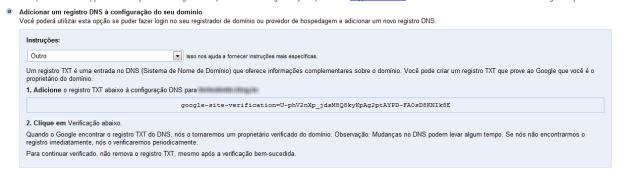 Adicionar um registro à DNS.  (Foto: (Foto: Reprodução/Juliane Costa))
