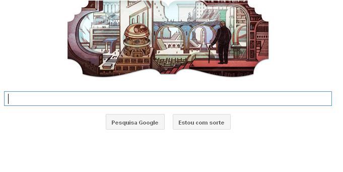 Google homenageia o escritor Jose Luis Borges (Foto: Reprodução)