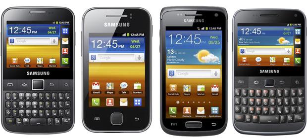 Nova linha Galaxy da Samsung (Foto: Reprodução)