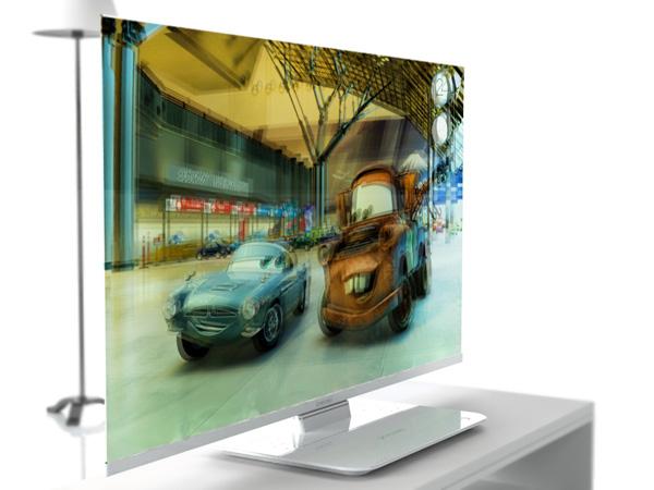 Samsung MSTV 3-D TV exibe imagens em 3D (Foto: Divulgação)