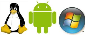 Exemplos de sistemas operacionais (Foto: Reprodução)