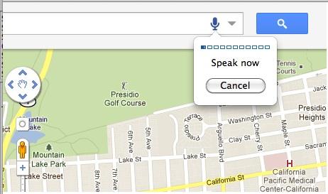 Google Maps com comando de voz (Foto: Reprodução)