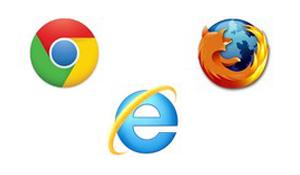 Exemplos de navegadores (Foto: Reprodução)