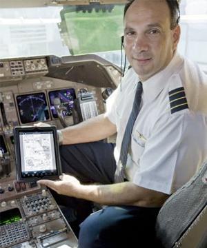 Manuais de voos digitais (Foto: Reprodução)