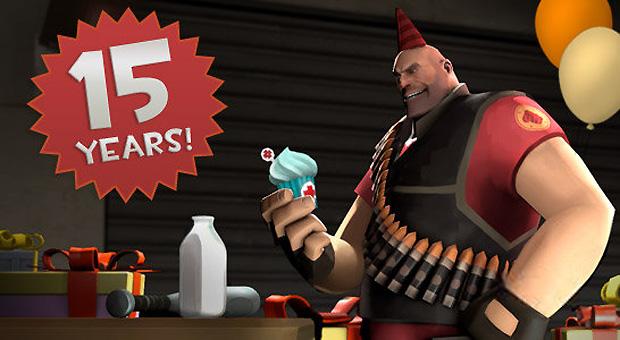 Team Fortress comemora 15 anos com chapéus (Foto: Eurogamer)