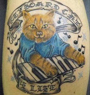 Keyboard Cat (Foto: Reprodução)