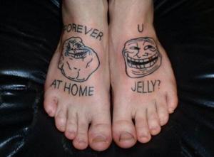 Forever Alone e Trollface (Foto: Reprodução)