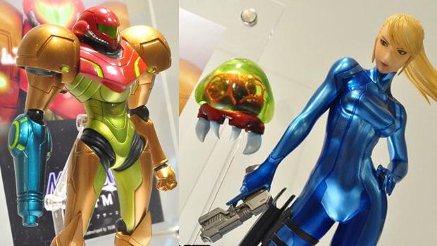 Veja a protagonista de Metroid em miniaturas de cair o queixo (Foto: Siliconera)