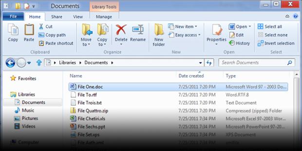Explorer no Windows 8 (Foto: Reprodução/Building Windows 8 Blog)