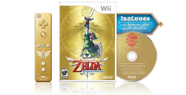 Zelda: Skyward Sword terá edição especial (Foto: Divulgação)