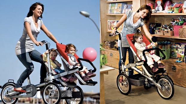 Taga Bike, carrinho e bicicleta para bebês (Foto: Divulgação)