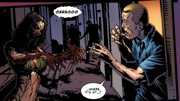 Dead Island em quadrinhos (Foto: Reprodução)