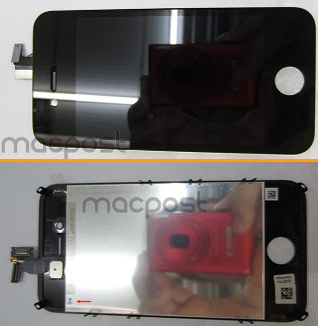 Suposta frente do iPhone 5 (Foto: Reprodução/MacPost)