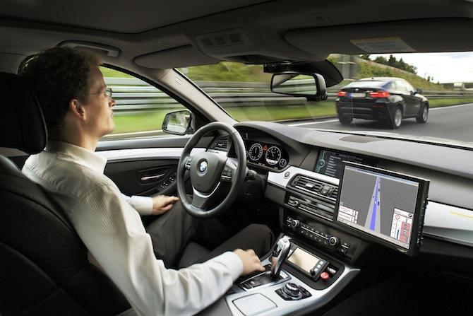 BMW testa sistema autônomo. (Foto: Divulgação)