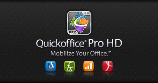 Quickoffice Pro HD para Android Honeycomb (Foto: Divulgação)