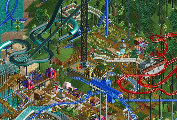 RollerCoaster Tycoon (Foto: Divulgação)