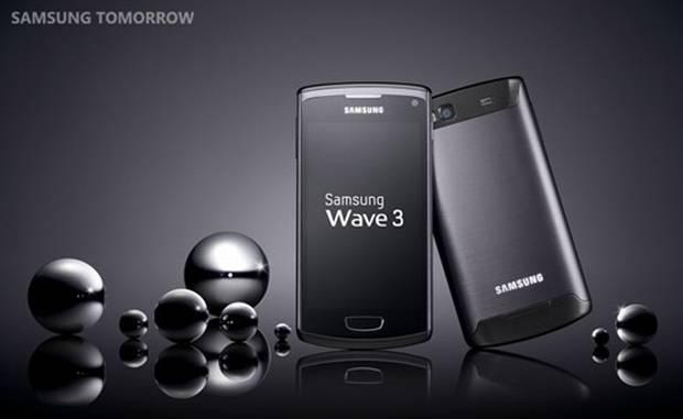 Samsung Wave 3 (Foto: Divulgação)