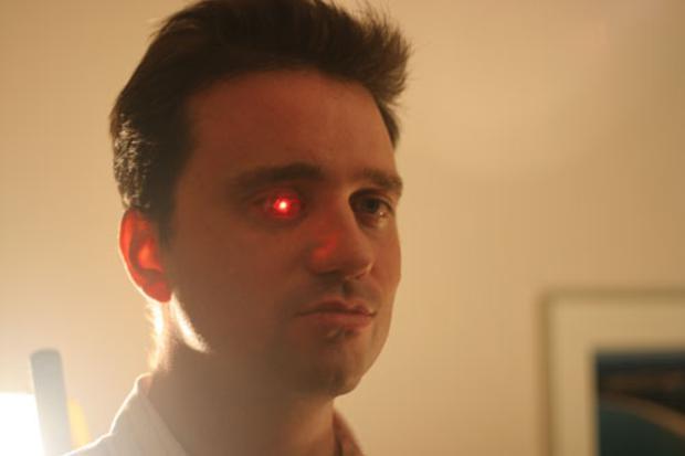 Rob Spence e seu olho biônico (Foto: Divulgação)