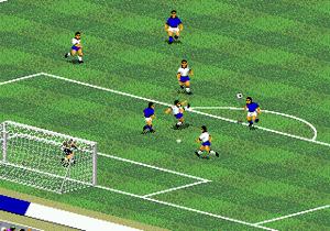 FIFA International Soccer foi lançado no fim de 1993 e só contava com seleções (Foto: Vizzed)