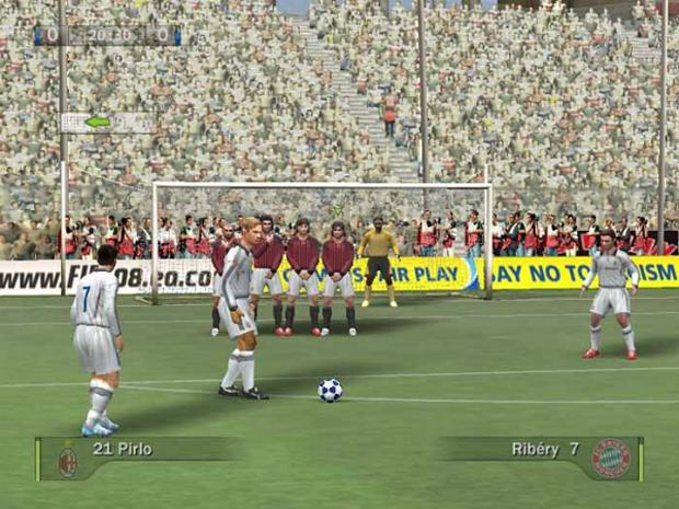 FIFA 08 marcou a atual evolução da série como game de simulação de futebol  (Foto: Divulgação)