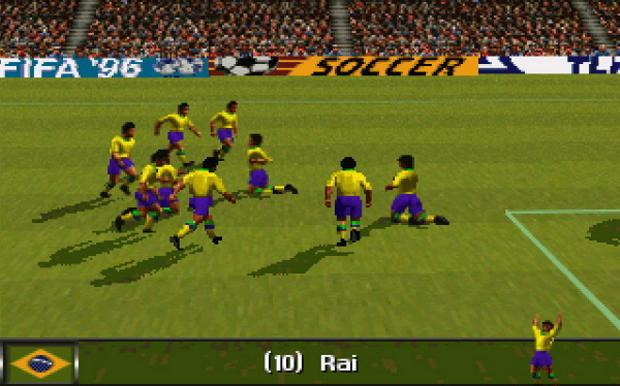 O visual de FIFA Soccer 96 foi produzido em Silicon Graphics, uma das tecnologias gráficas mais modernas da época  (Foto: FifaPolonia.pl)