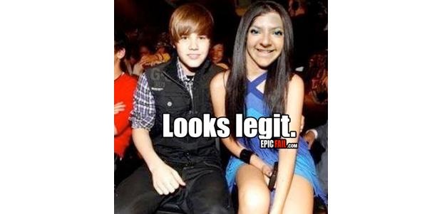 Justin, um menino corajoso. Never say never, Bieber! (Foto: Reprodução)
