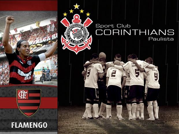 Flamengo e Corinthians: os times brasileiros mais populares (Foto: Reprodução)