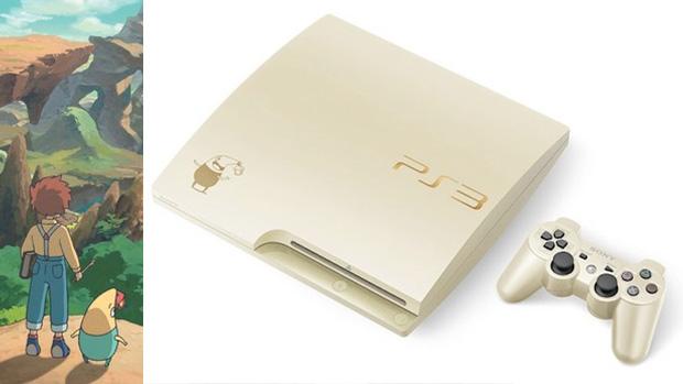 PlayStation 3 ganha pacote dourado mágico com Ni no Kuni no Japão (Foto: Destructoid)