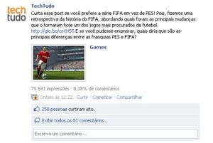 Curtidas pelo Fifa (Foto: Reprodução)