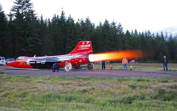 Veículo projetado pelo North American Eagle (Foto: Reprodução)