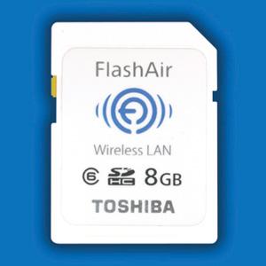 Cartão SD FlashAir (Foto: Divulgação)