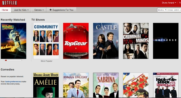 Netflix no Brasil (Foto: Reprodução)