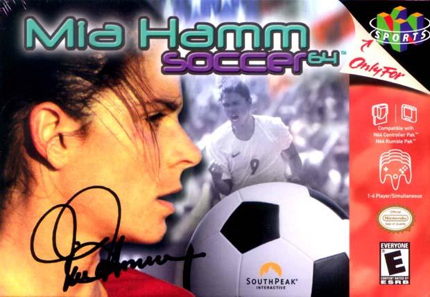 Mia Hamm Soccer 64 (Foto: Divulgação)