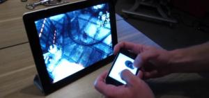 Aplicativo permite controlar jogos do iPad por meio do iPhone ou iPod Touch (Foto: Divulgação)