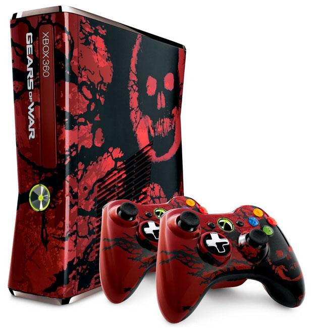 Xbox 360 de Gears of War 3 é mostrado por Ice T (Foto: Divulgação)