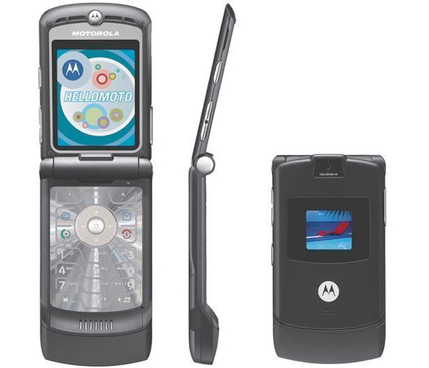 Motorola V3 (Foto: Reprodução)