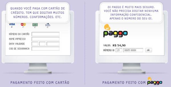 Impressão de tela do Oi Paggo: serviço ainda engatinha no Brasil (Foto: Divulgação)