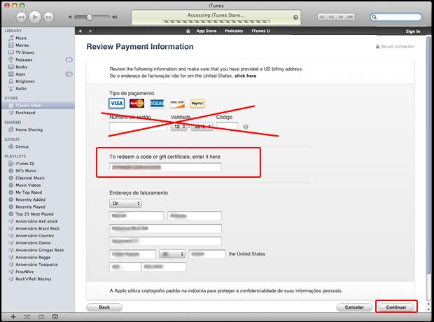 Criando sua conta sem cartão de crédito (Foto: Reprodução/Marcell Almeida)