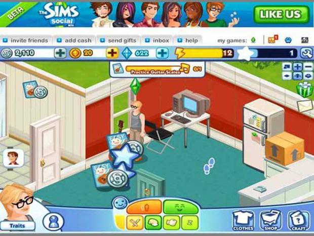 The Sims Online ultrapassa FarmVille, sendo o segundo jogo mais jogado