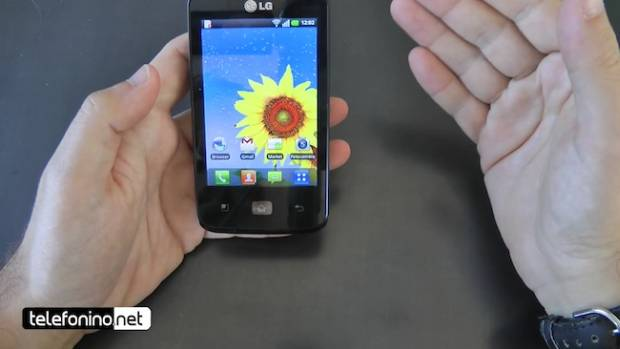 LG Optimus Hub (Foto: Reprodução)