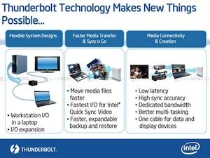 Intel Thunderbolt (Foto: Divulgação)