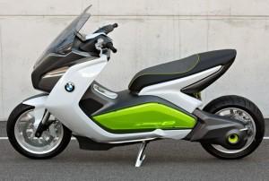 Conceito de scooter elétrica da BMW (Foto: Divulgação)