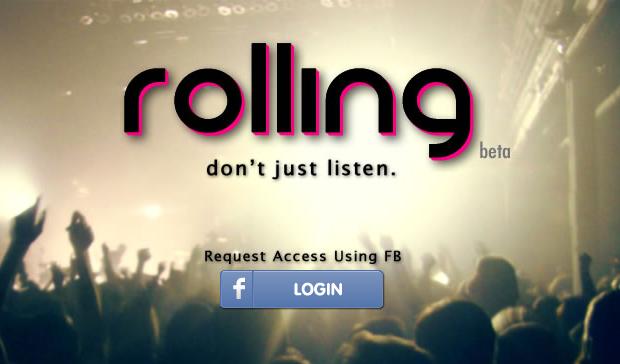 Rolling.fm (Foto: Reprodução/TechTudo)