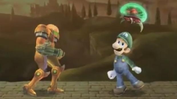 Como seria Super Smash Bros. Brawl com Fatalities?  (Foto: Divulgação)