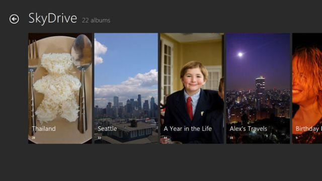 Suporte do Skydrive no Windows 8 (Foto: Reprodução)
