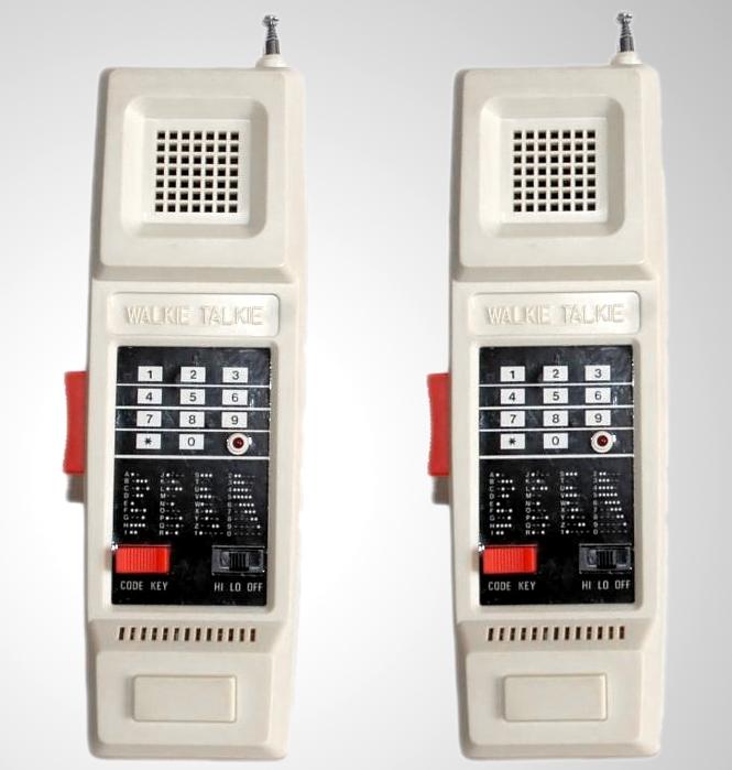 Walkie Talkies Combat Communicators (Foto: Reprodução)