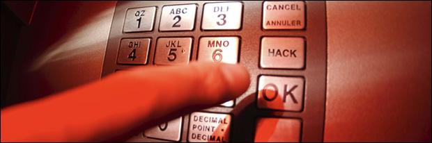Chuva de dinheiro no caixa eletrônico (Foto: Reprodução)