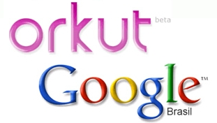 Logo do Orkut e logo do Google (Foto: Divulgação)